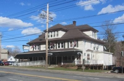 The Characters Bar & Restaurant, formerly the Glenwood Hotel. image. Click for full size.