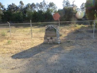 Old Temescal Road Marker image. Click for full size.