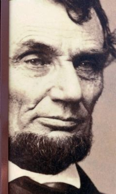 Abraham Lincoln, 1864 image. Click for full size.