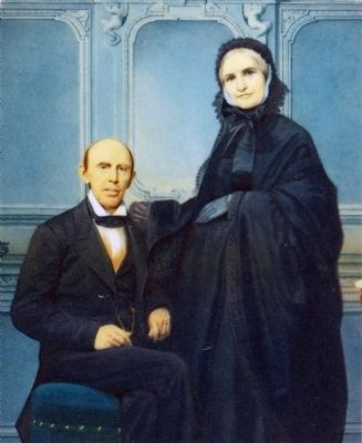 Francis Preston Blair Sr., (1791–1876) and wife Eliza Gist, (1794–1877). image. Click for full size.