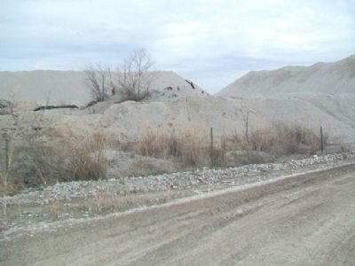 Mine Tailings at Treece, Kansas image. Click for full size.