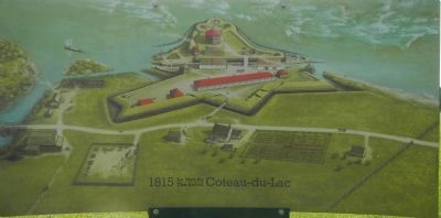 Coteau-du-lac circa 1815 image. Click for full size.