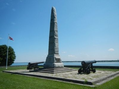 Battle of Crysler's Farm Monument image. Click for full size.