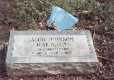 Jacob Johnson Civil War Congressional Medal of Honor Recipient image. Click for full size.