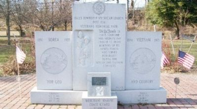Falls Township War Memorial image. Click for full size.