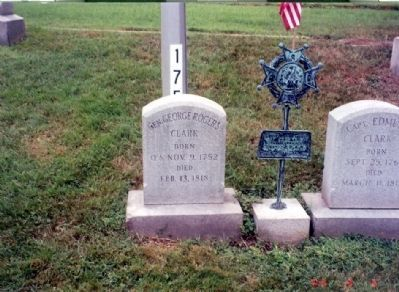 General George Rogers Clark Grave Marker image. Click for full size.