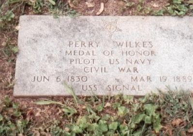 Perry Wilkes-Civil War Congressional Medal of Honor Recipient image. Click for full size.