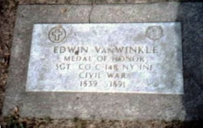 Edwin Van Winkle-Civil War Congressional Medal of Honor Recipient image. Click for full size.