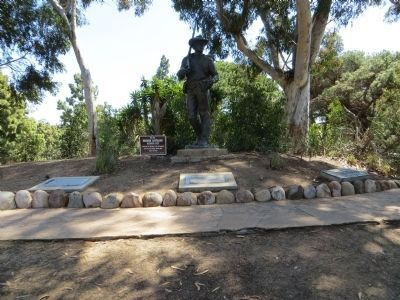 The Mormon Battalion at San Diego Marker image. Click for full size.