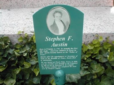 Stephen F. Austin Marker image. Click for full size.