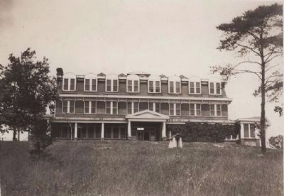 Waller Hill/Quantico Hotel, c. 1929 image. Click for full size.