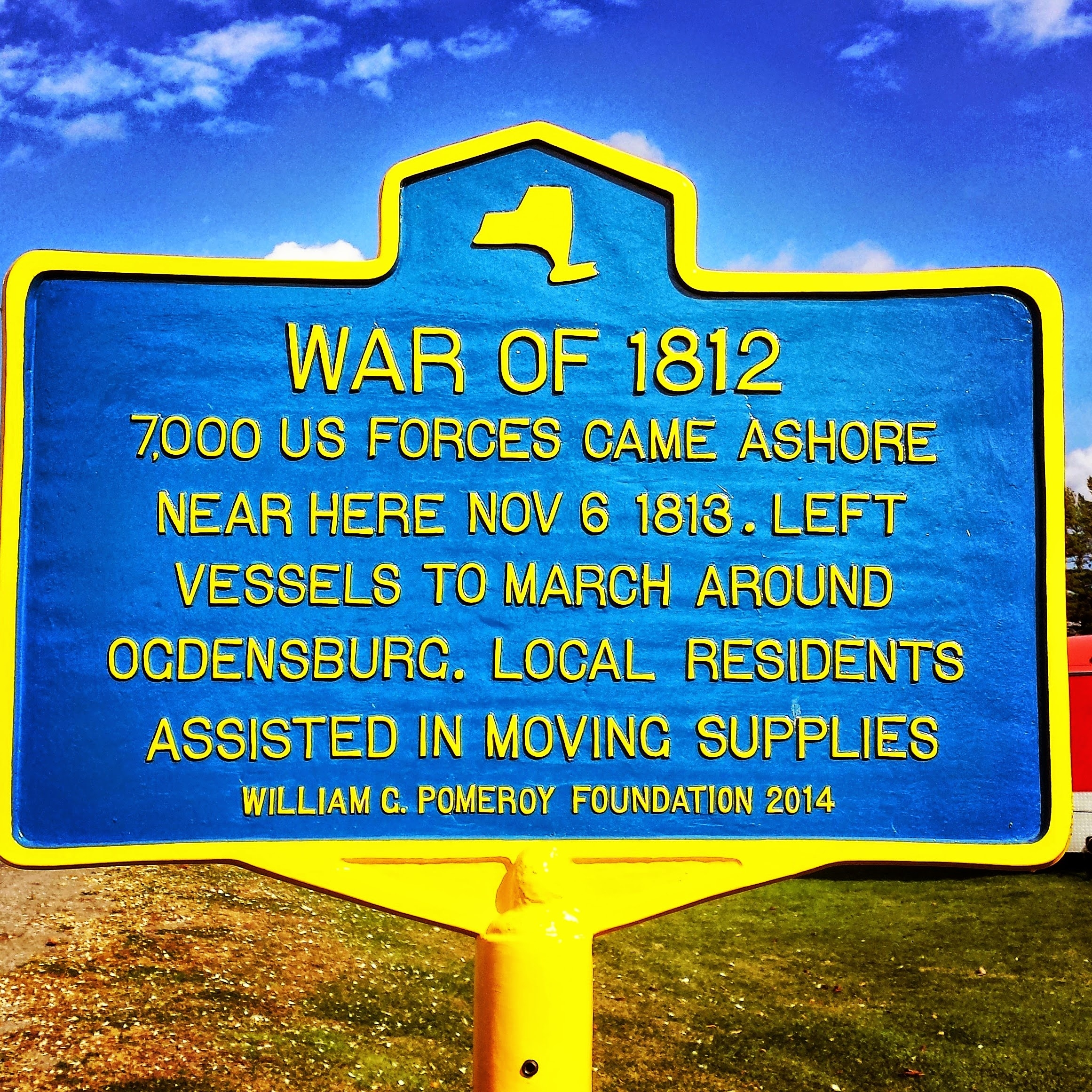 War of 1812 Marker