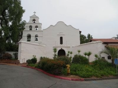 Mission San Diego de Alcala image. Click for full size.