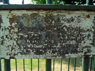 Original Federal Boundary Stone SE 6 image. Click for full size.