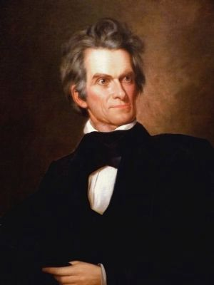 John C. Calhoun image. Click for full size.