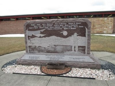 West Seneca Vietnam Veterans Monument image. Click for full size.