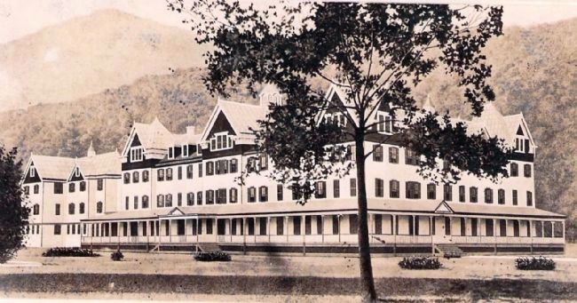 Webster Springs Hotel Postcard image. Click for full size.