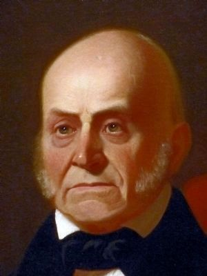 John Quincy Adams<br>Sixth President, 1825&#8211;29 image. Click for full size.