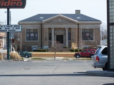 Old Logan County Library image. Click for full size.