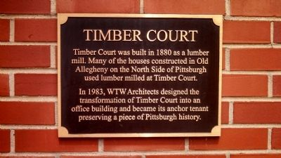 Timber Court Marker image. Click for full size.