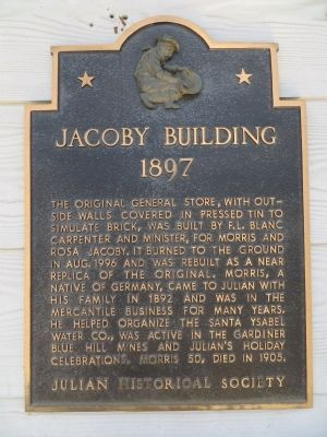 Jacoby Building Marker image. Click for full size.