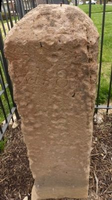 Original Federal Boundary Stone SE 3 image. Click for full size.