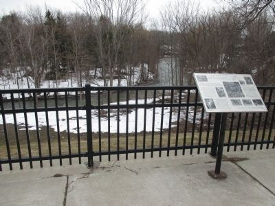 Anna Mae Bacon Bird Sanctuary Marker and Overlook image. Click for full size.