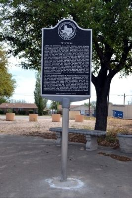 Winters Marker image. Click for full size.
