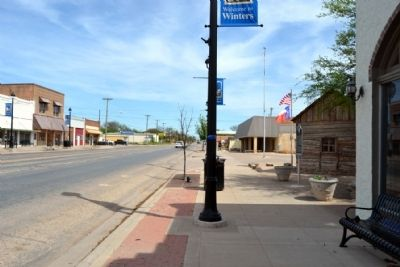 View to North Along Main Street (US 83) image. Click for full size.