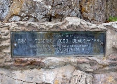 1830 - Reading Wood Black - 1867 Marker image. Click for full size.