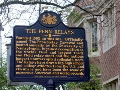 The Penn Relays Marker image. Click for full size.