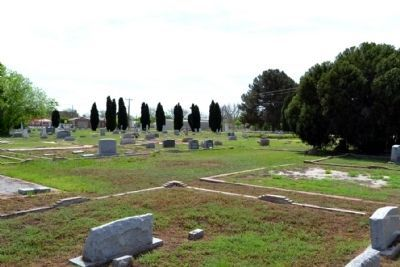 Marker in Southwest Section of North View Cemetery image. Click for full size.
