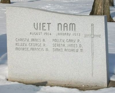 War Memorial Honored Dead - Vietnam image. Click for full size.