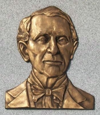 Colonel John H. Sullivan Relief image. Click for full size.