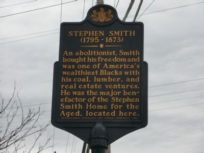 Stephen Smith Marker image. Click for full size.