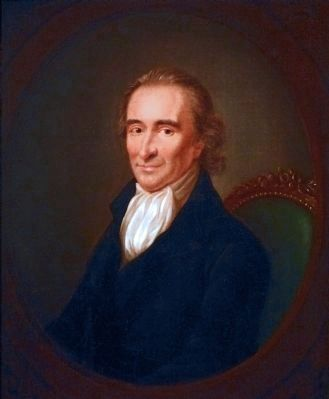 Thomas Paine<br>1737-1809<br>Born Thetford, England image. Click for full size.