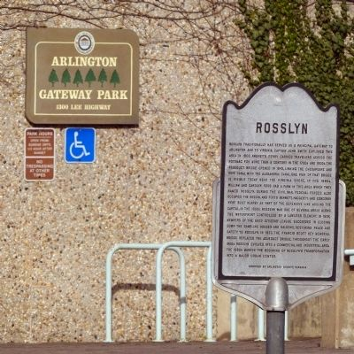 Rosslyn Marker image. Click for full size.