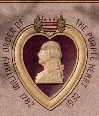 Military Order of the Purple Heart<br>1782&nbsp;&nbsp;&nbsp;1932 image. Click for full size.