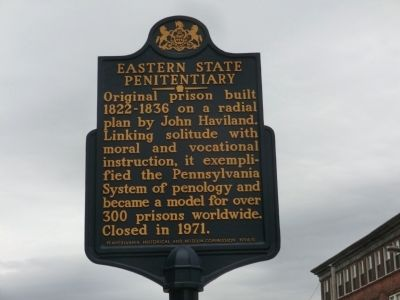 Eastern State Penitentiary Marker image. Click for full size.