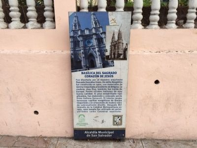 Basilica of the Sacred Heart of San Salvador additional marker image. Click for full size.