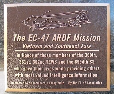 The EC-47 ARDF Mission Marker image. Click for full size.