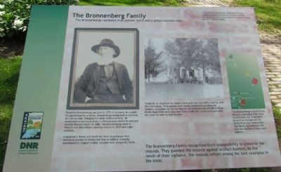 The Bronnenberg Family Marker image. Click for full size.