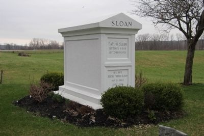 Earl S. Sloan (1848-1923) Gravestone. image. Click for full size.