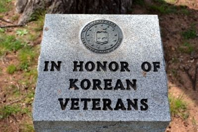 Winters Korean Veterans Memorial Marker image. Click for full size.