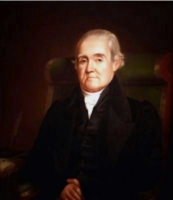 Noah Webster<br>1758-1843 image. Click for full size.