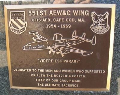 551st AEW&C Wing Marker image. Click for full size.