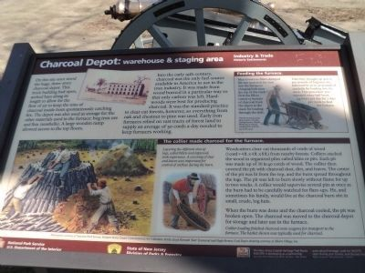 Charcoal Depot: warehouse & staging area Marker image. Click for full size.