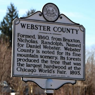 Webster County Face of Marker image. Click for full size.