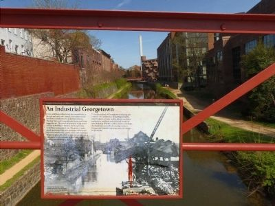 An Industrial Georgetown Marker image. Click for full size.