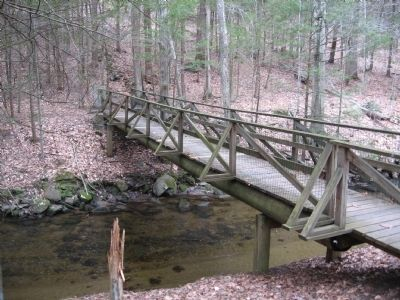 Brian E. Tierney Preserve Footbridge image. Click for full size.